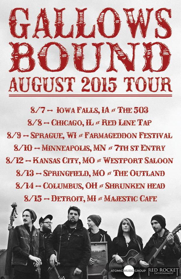 Gallows bound release new video for the song sink in the for Soil tour dates 2015