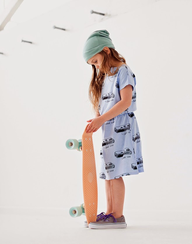 "Bandit Kids streetwear collection ""X Marks the Spot"" - skater girl"