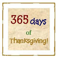 365 Days of Thanksgiving