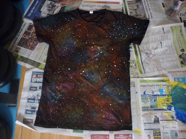 Galaxy Paint Hands