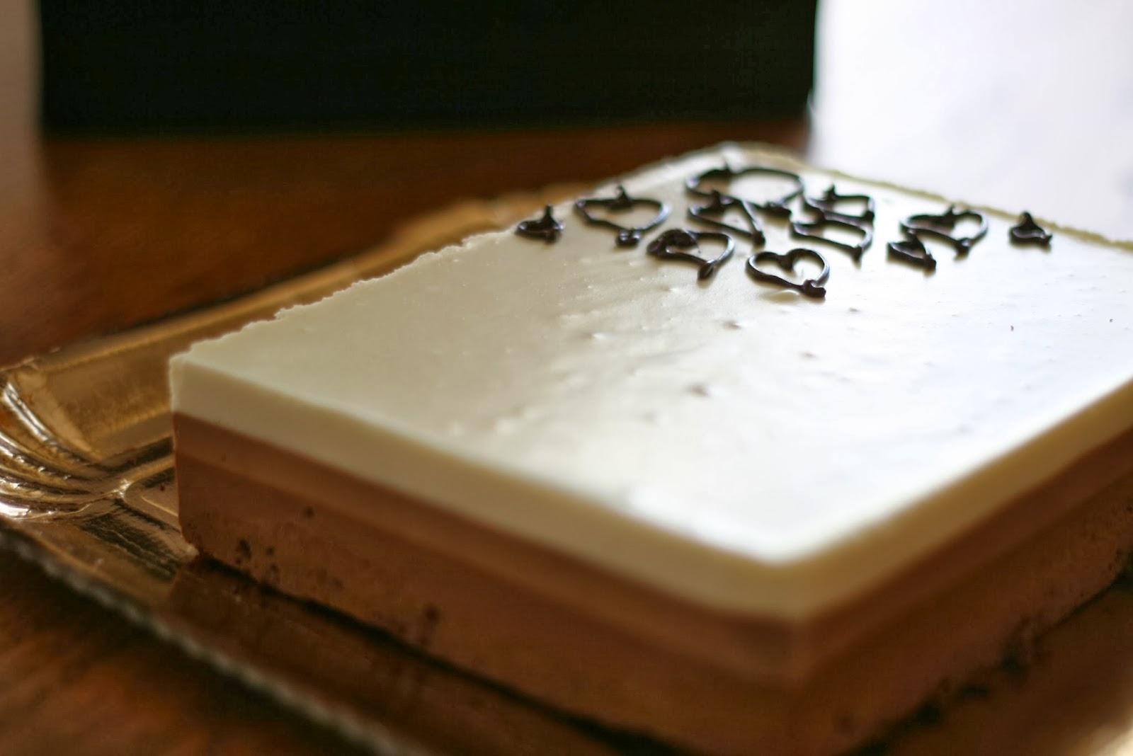 torta ai tre cioccolati di ernst knam