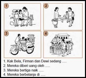 Rumah Sesi Bahasa Indonesia Kelas Ii Melengkapi Cerita