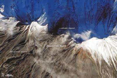 Volcán Zhupanovsky Noviembre 2013