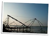 Redes de pesca en Kochi