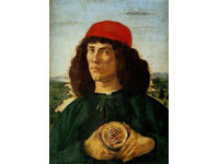 Botticelli, Portrait d'un homme avec la médaille de Cosimo l'ancien