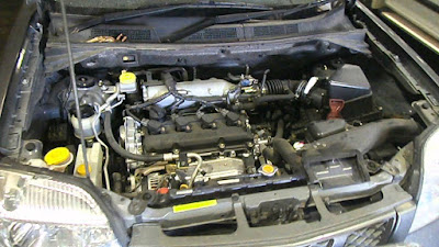 Foto Mesin Nissan X-Trail T30 Gen1 2.5 liter 2004 2005 2006