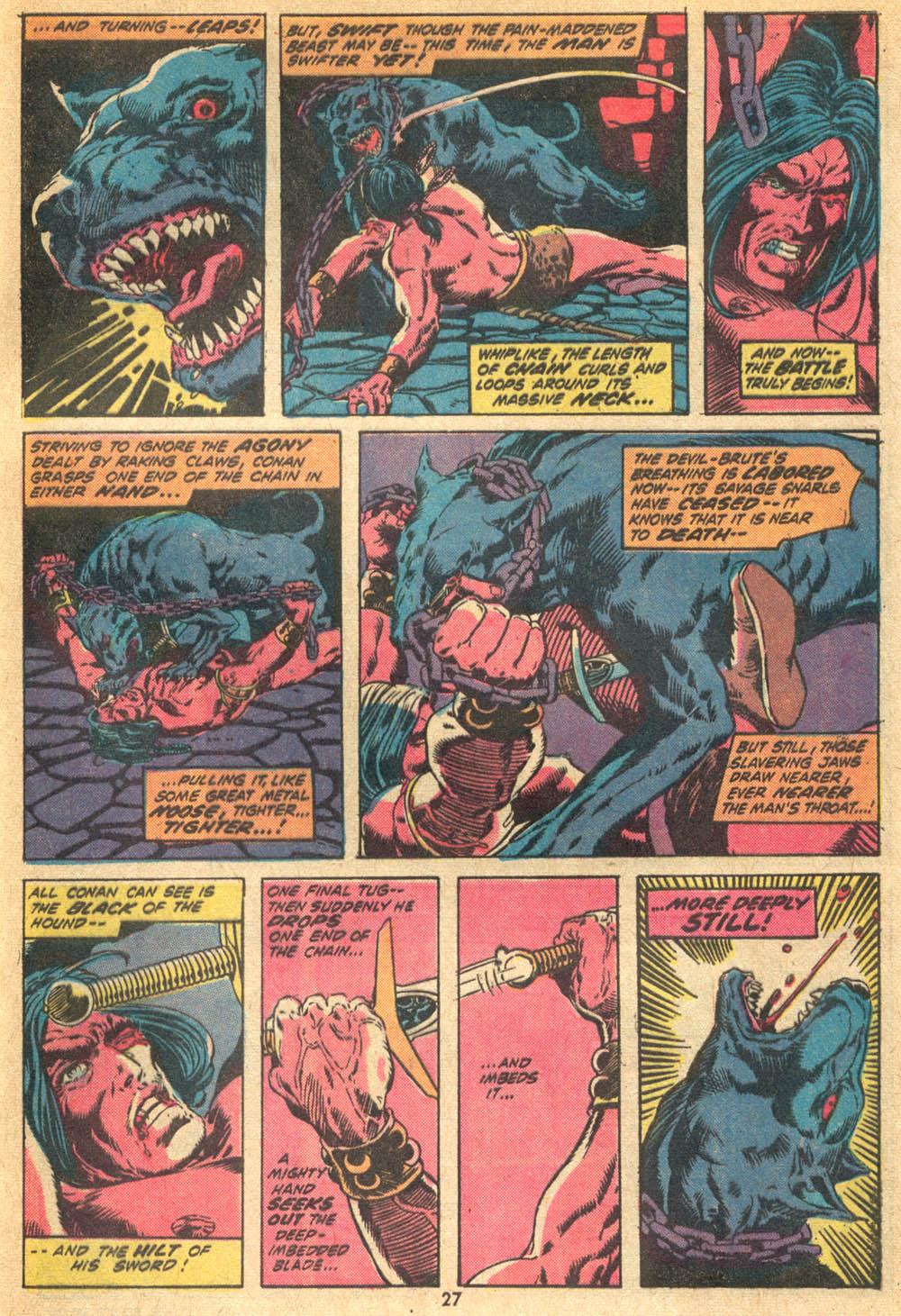 Conan the Barbarian (1970) Issue #20 #32 - English 18