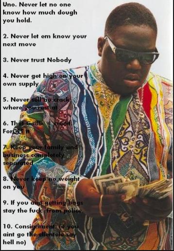 Notorious b i ten crack commandments lyrics