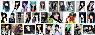 model gaya rambut emo pendek dan panjang pria dan wanita 14