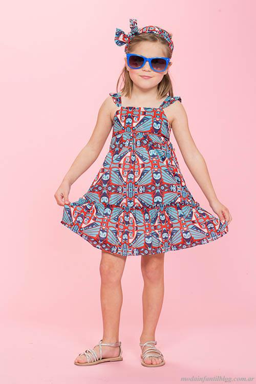 vestidos niñas pioppa verano 2014