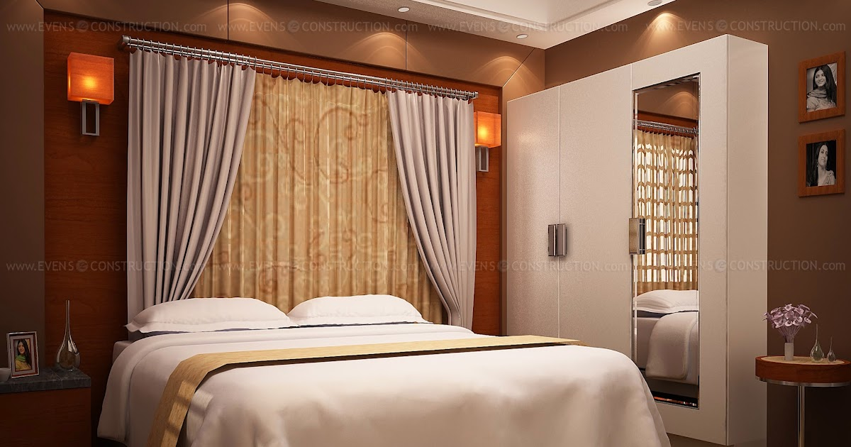 Evens Construction Pvt Ltd Awesome Kerala Home Bedroom