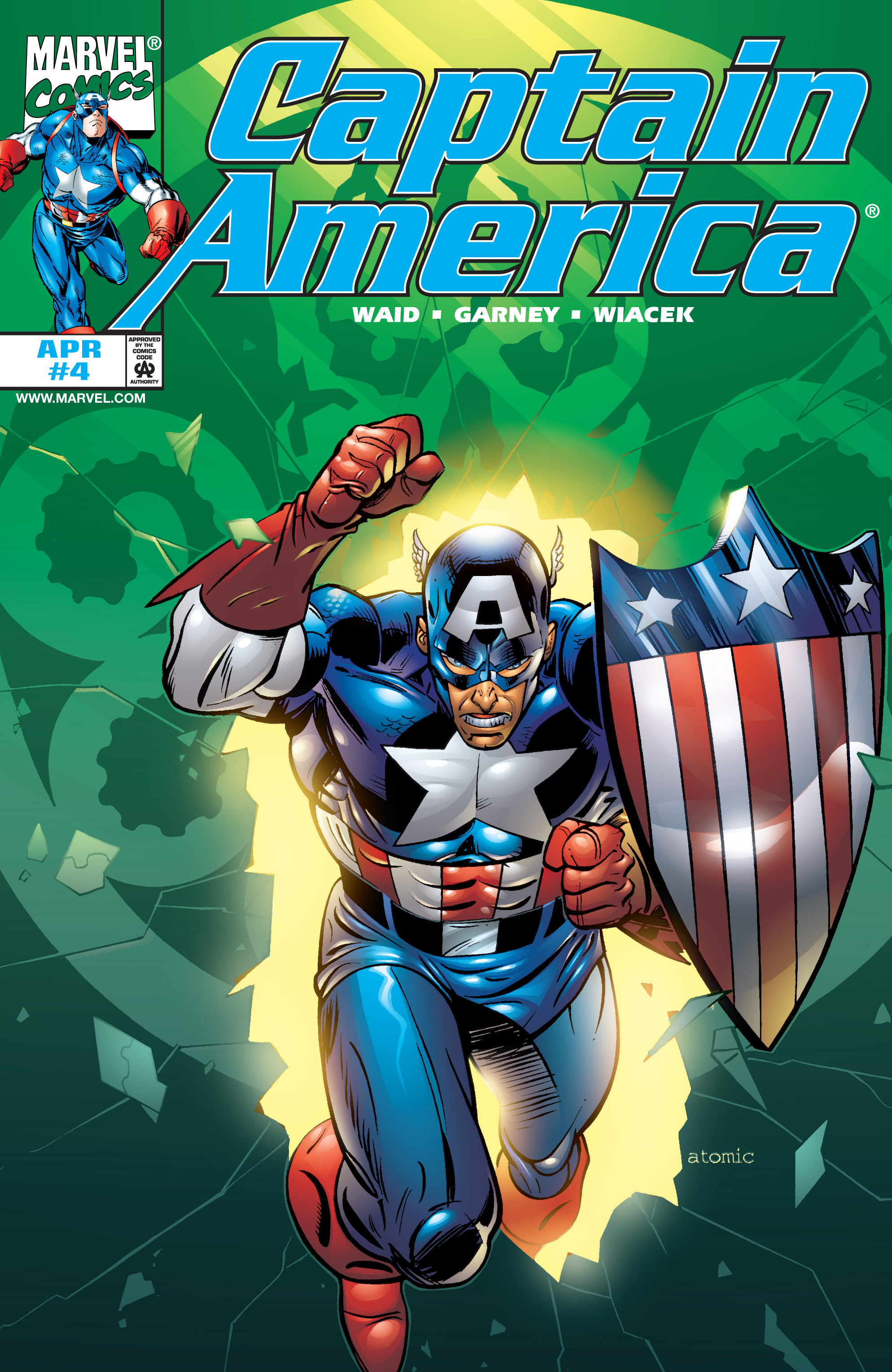 Captain America (1998) Issue #4 #7 - English 1