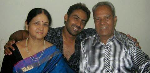 Jayram Karthik family