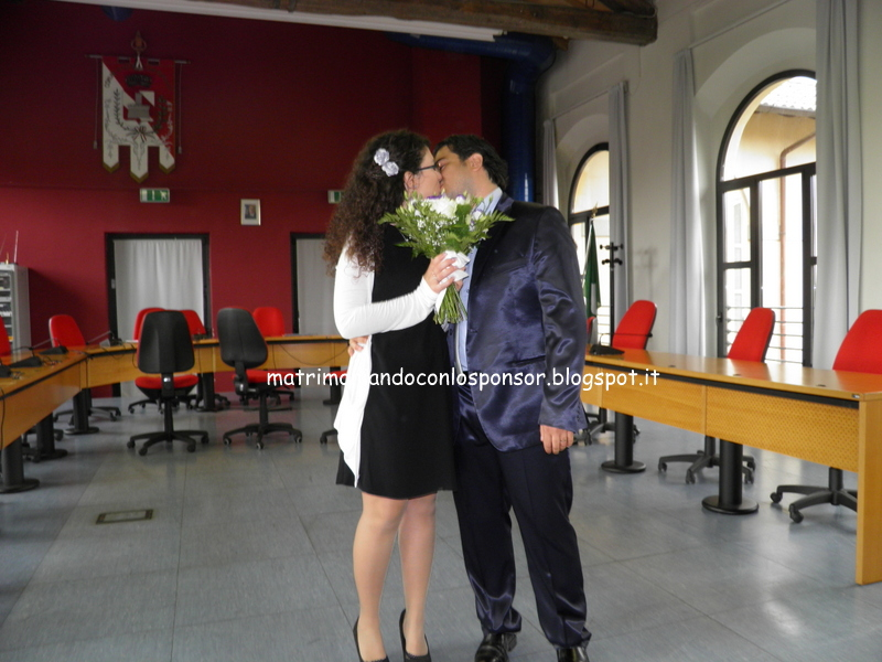 matrimonio civile sonia e roberto