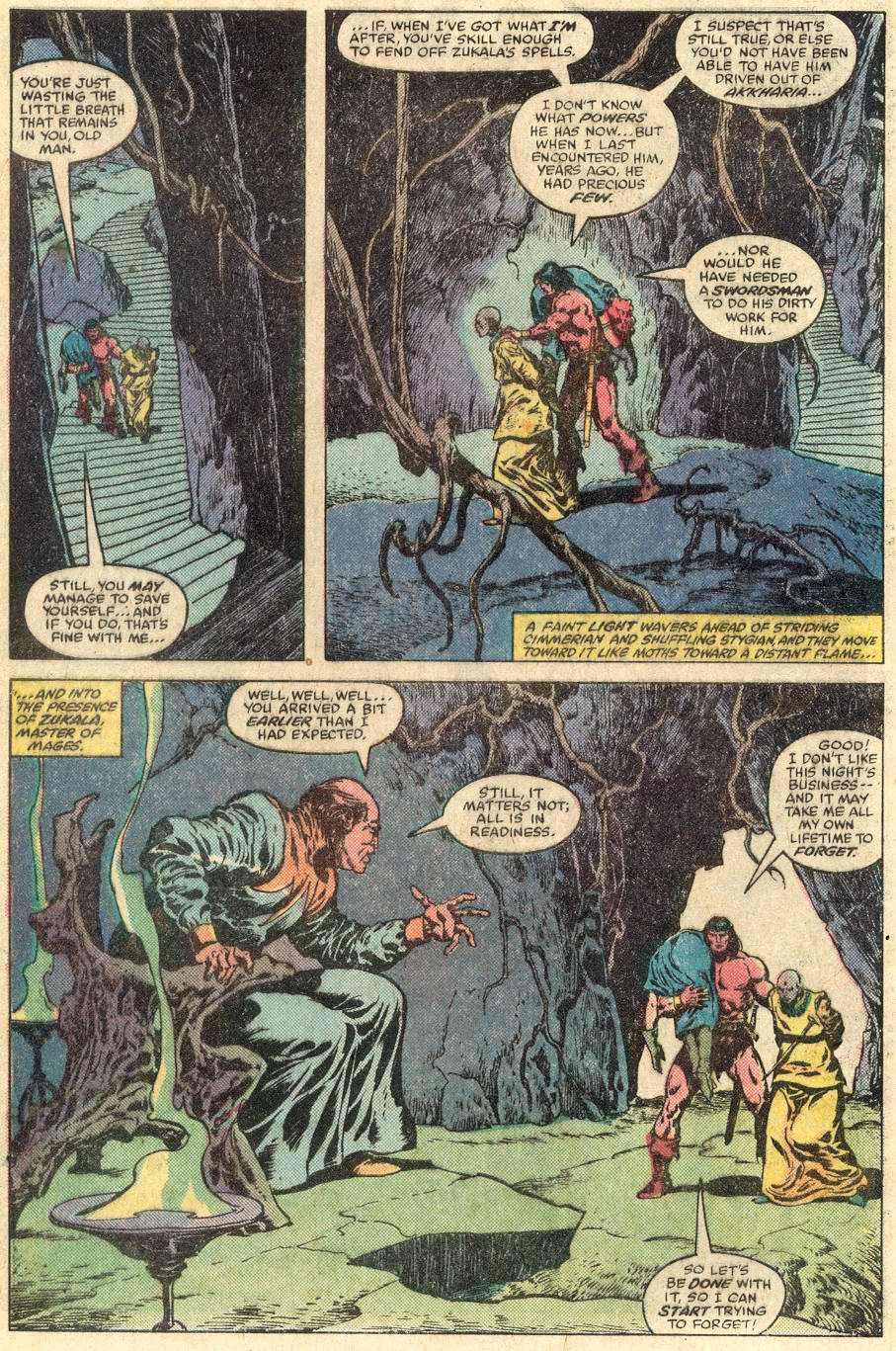 Conan the Barbarian (1970) Issue #115 #127 - English 21