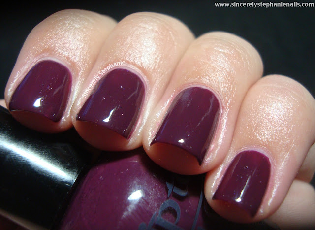 tip top nails crushed grape