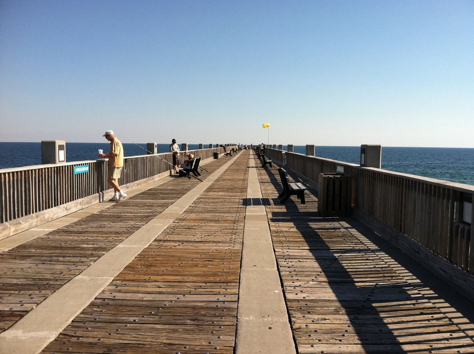 Peggy 39 s pensacola dream fishing pier visit for Pensacola beach fishing pier