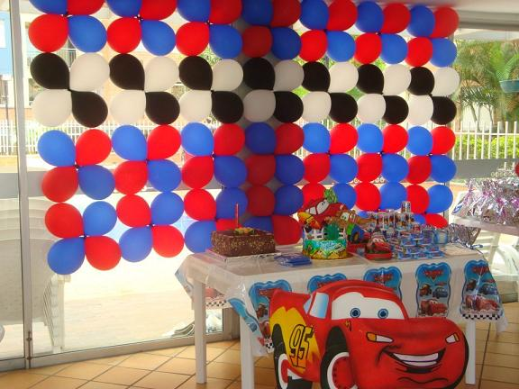 Decoracion Infantil De Cars ~ DECORACION DE FIESTAS INFANTILES DE CARS  Revoltosos Recreaciones
