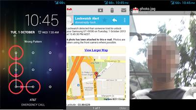 توصل بصور لص هاتفك الذكي بالتفصيل ومكان تواجده :