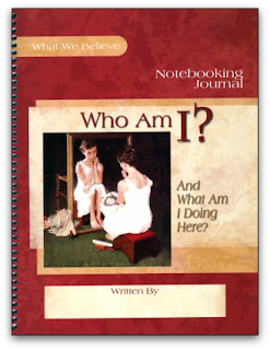Who am I?  is the second in the What We Believe series from Apologia.
