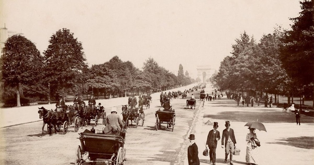 vintage everyday 30 Amazing Vintage Photos of Paris in the 1900s ~ Grand Hotel Bois De Boulogne