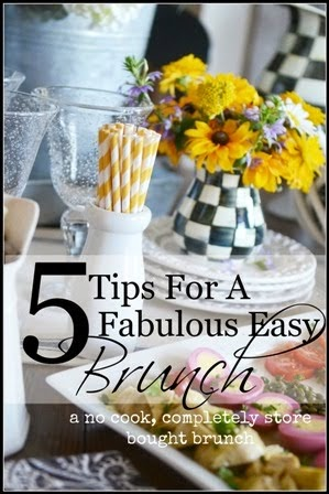 CREATE AN EASY BRUNCH