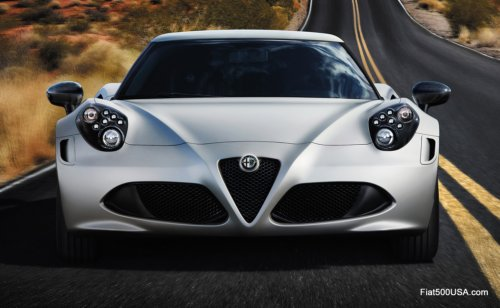 Alfa Romeo Launched Their Spectacular 4c Sports Car Today At The Geneva Motor Show Deliveries Of New Will Begin In Us By End
