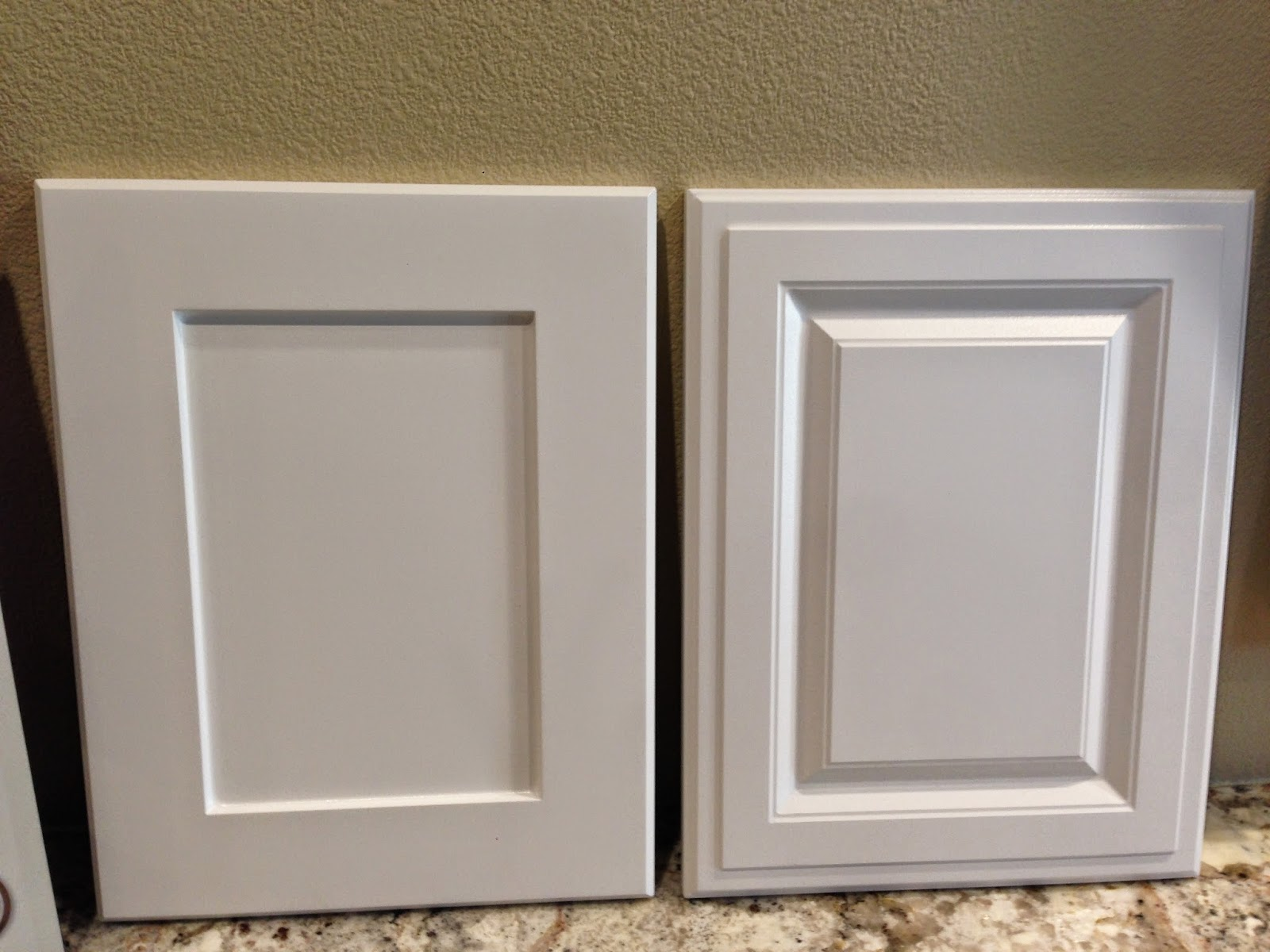 Kitchen cabinets shaker vs raised panel trekkerboy for Traditional style kitchen cabinets