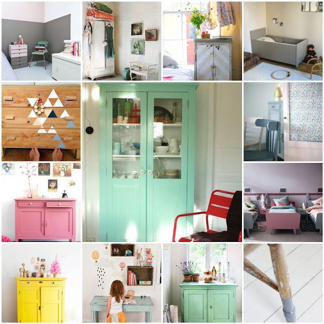 Chalk paint en muebles, suelos y paredes