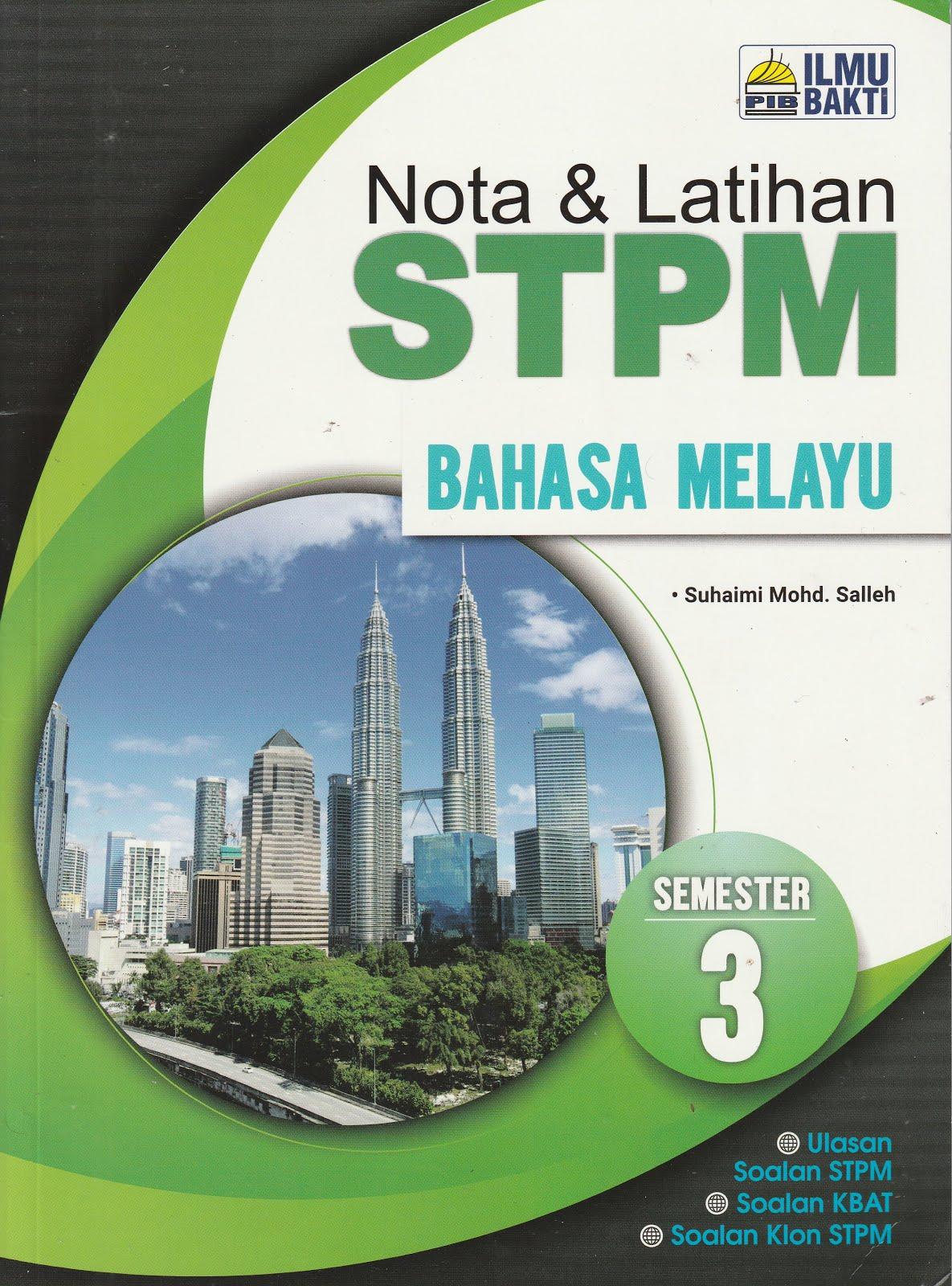 NOTA & LATIHAN STPM SEMESTER 3