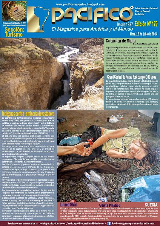 Revista Pacífico Nº 179 Turismo