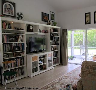 Ikea white bookcase
