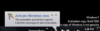 Disable and Remove Windows Genuine Advantage Notifications