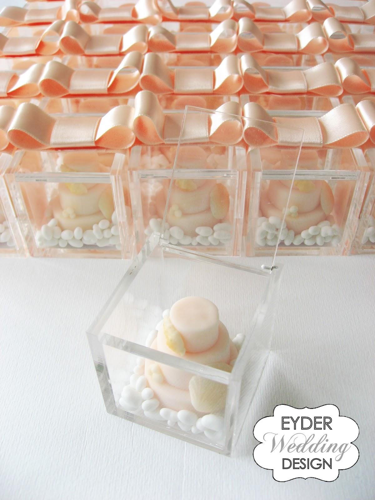 Famoso EYDER Wedding DESIGN: Scatole degustazione e bomboniere in plexiglass IA71