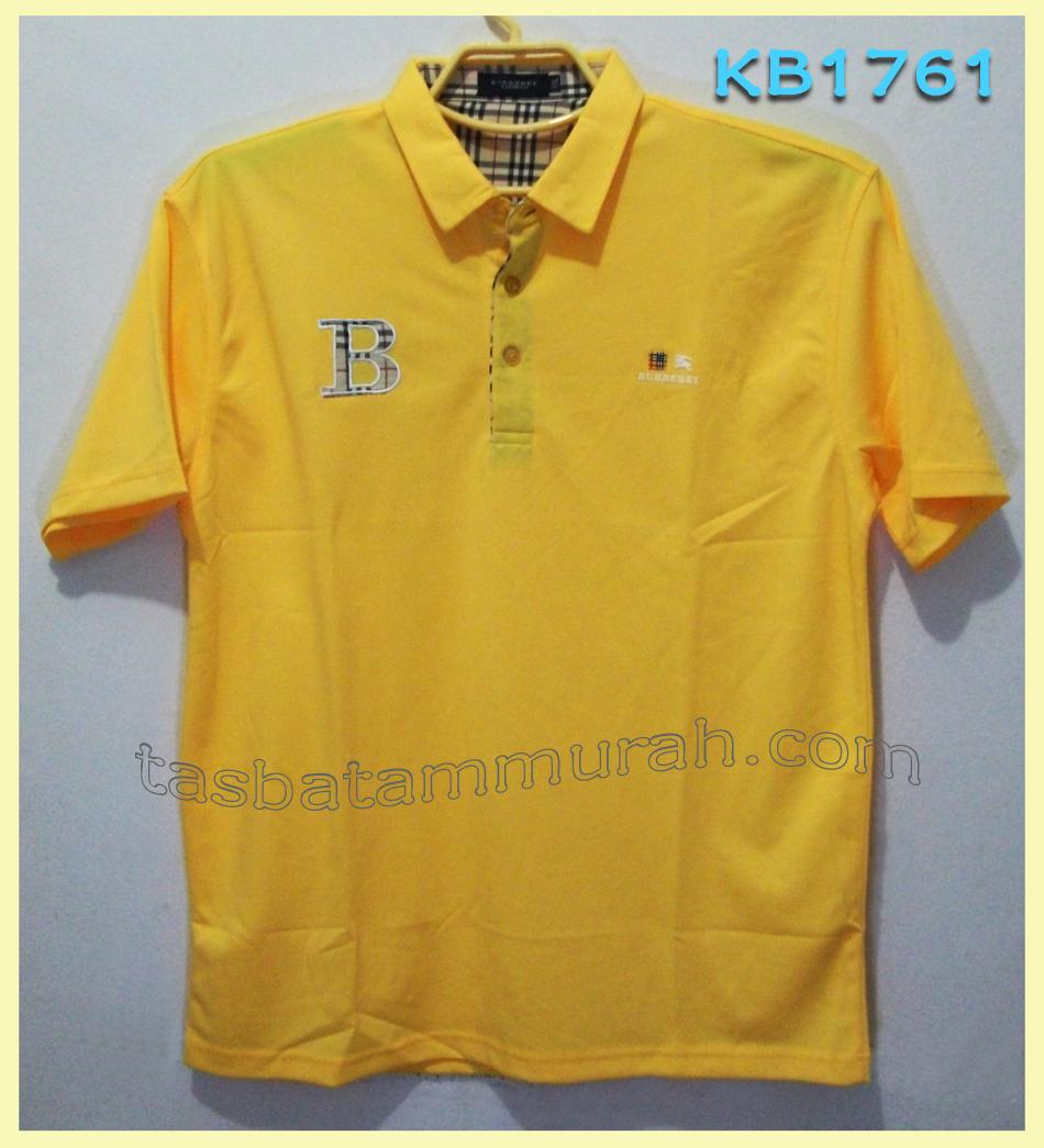 Burberry Poloshirt Yellow tasbatammurah.com