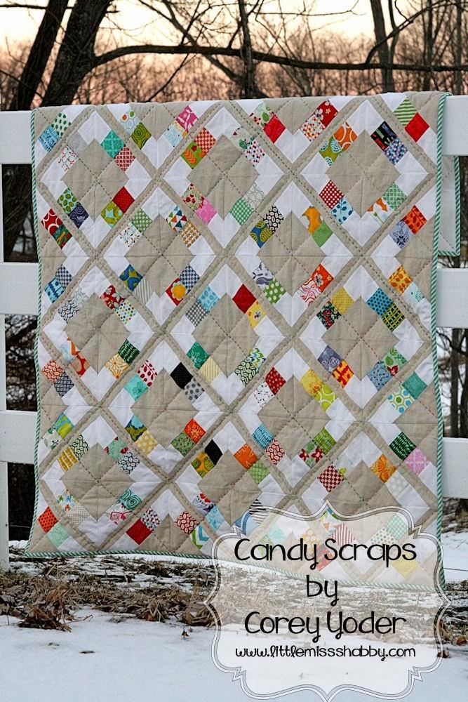 Candy scraps quilt 171 moda bake shop