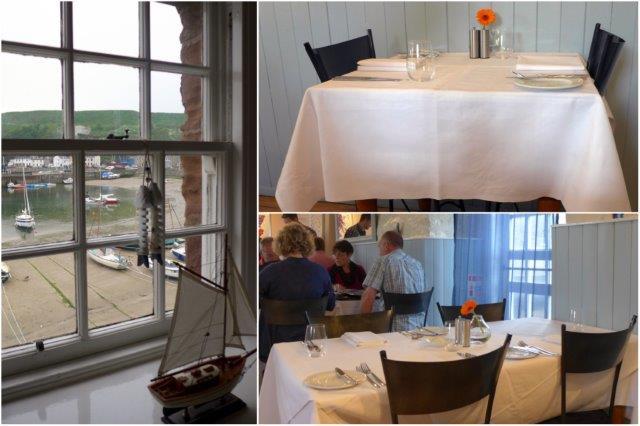 Comedor del Restaurante The Tolbooth en Stonehaven