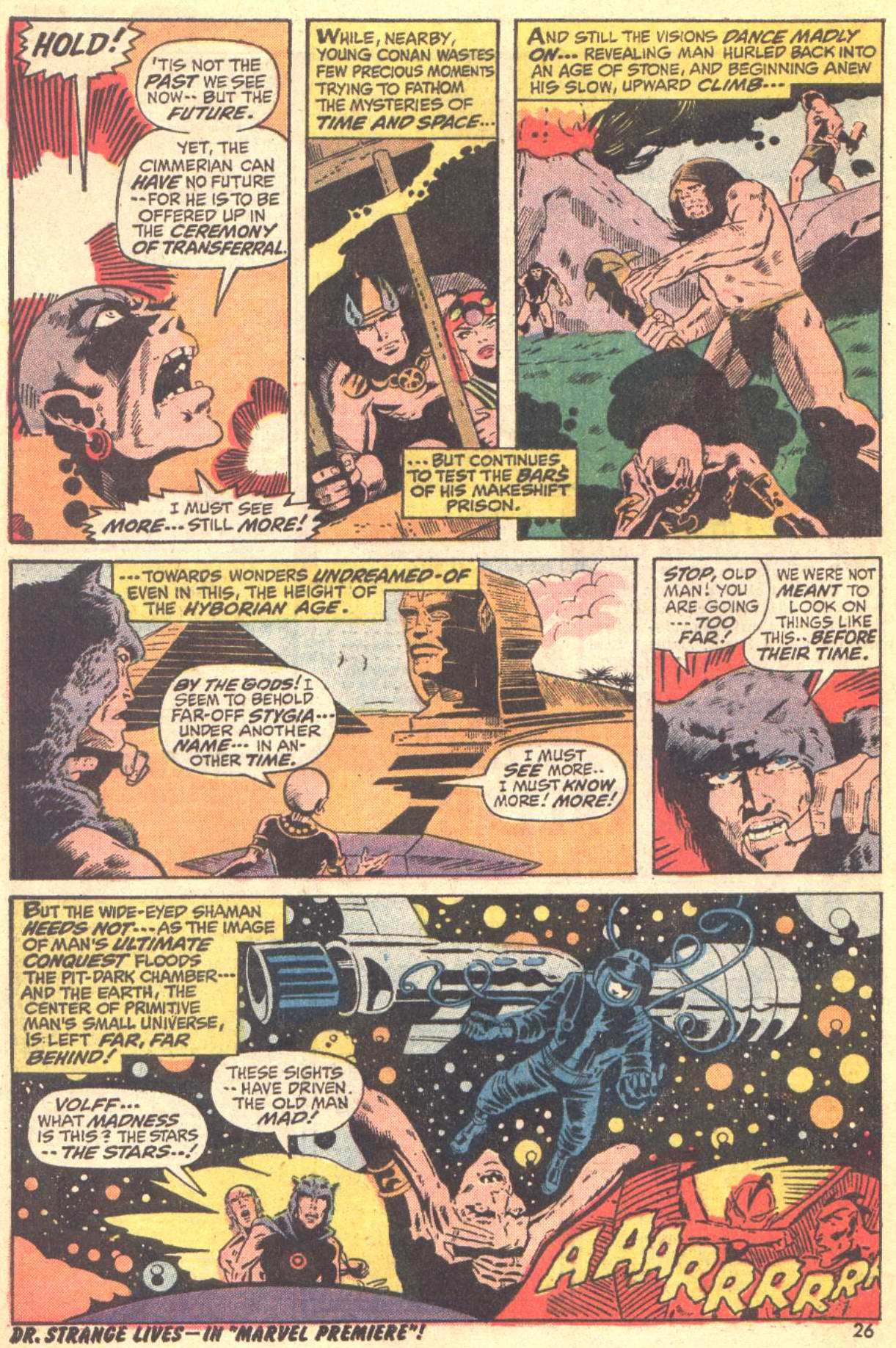 Conan the Barbarian (1970) Issue #22 #34 - English 18