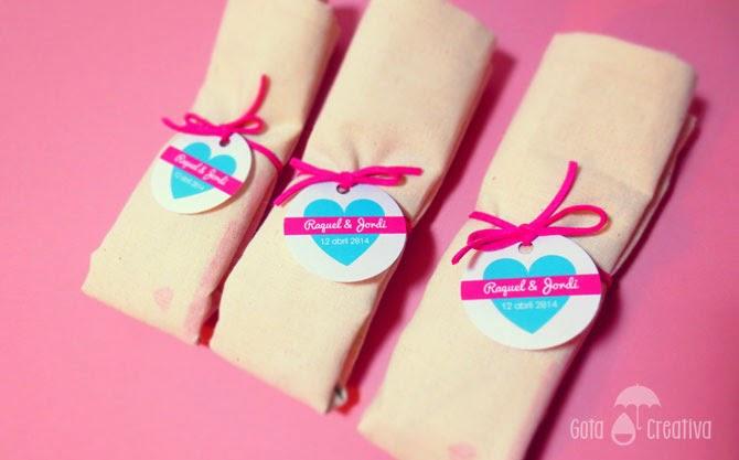 bolsas detalles para bodas Gota Creativa
