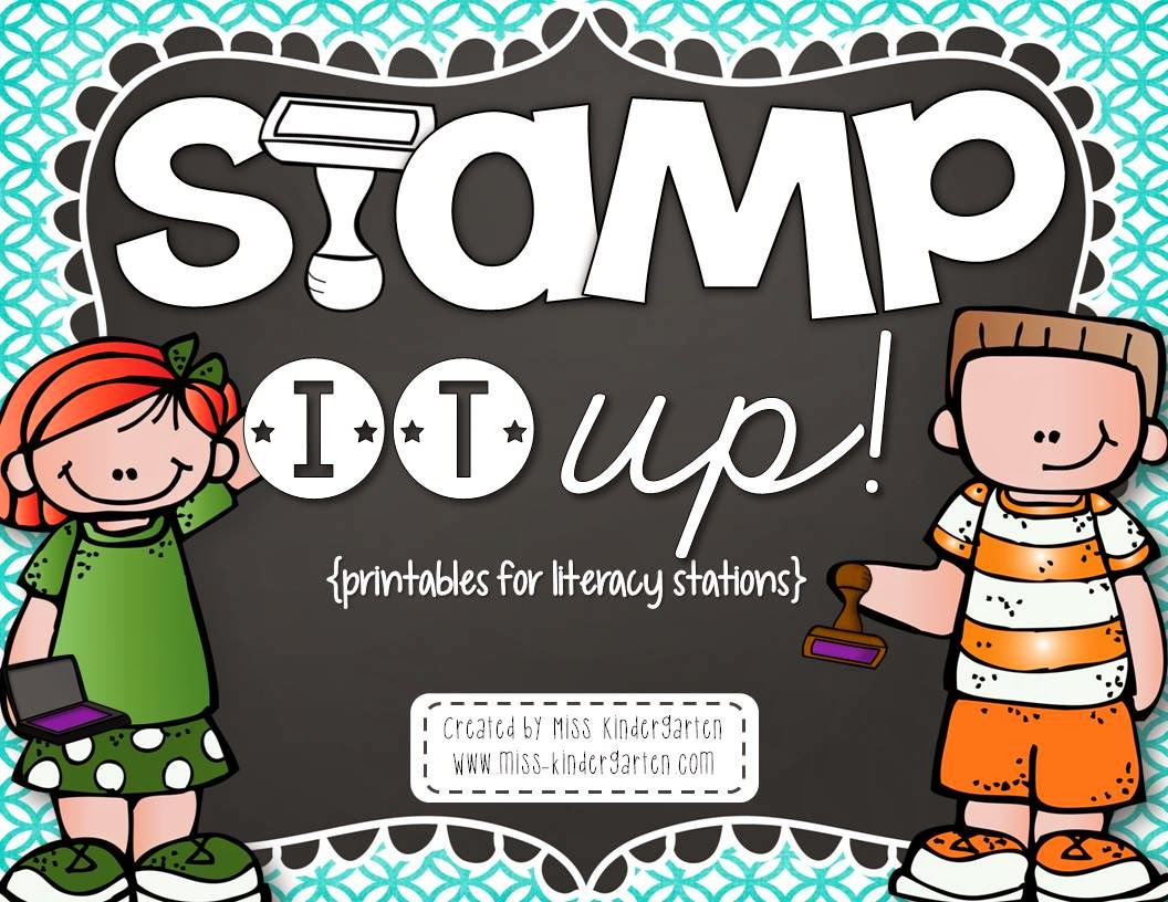 http://www.teacherspayteachers.com/Product/Stamp-it-Up-printables-for-literacy-stations-1052751