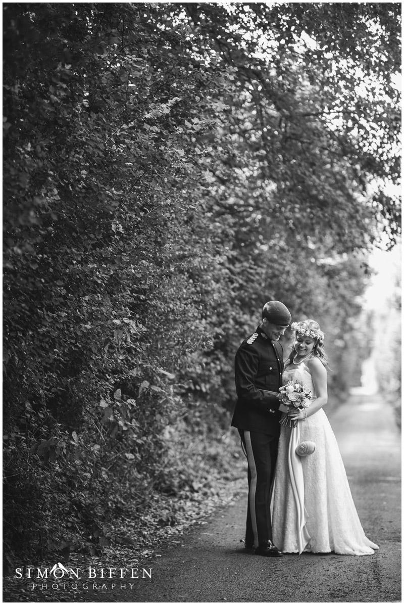 Roughmoor Farm bride and groom