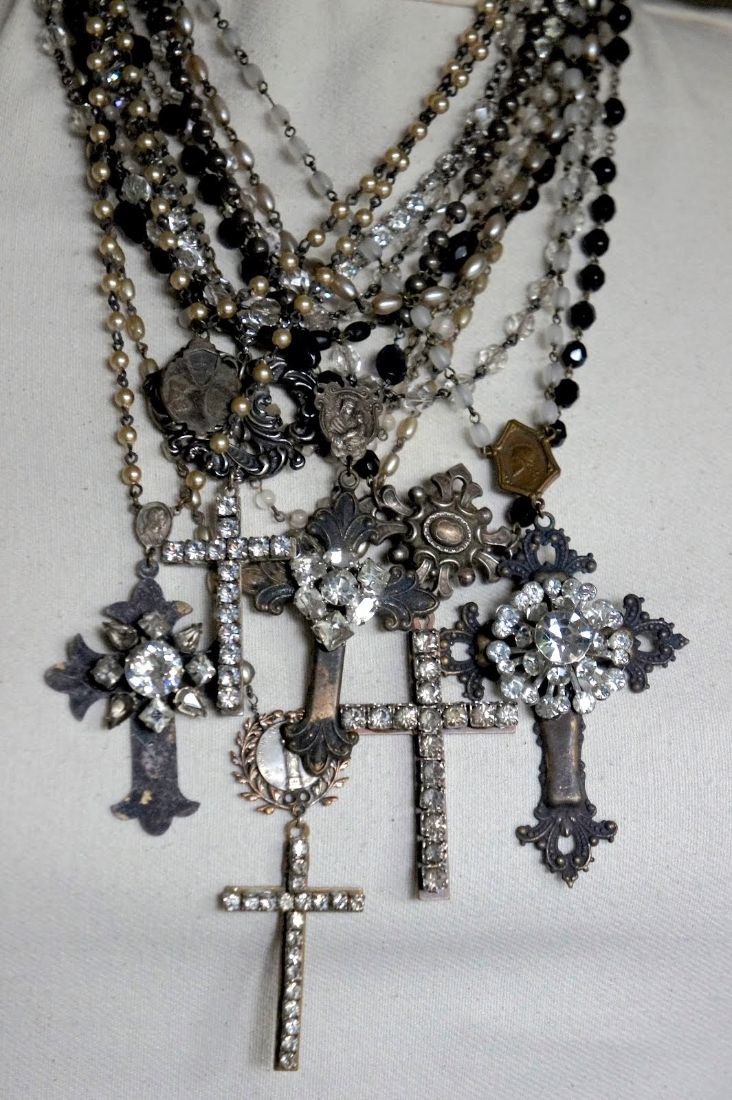 Adorned Cross Jewelry