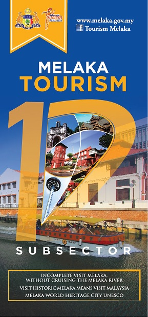 MELAKA TOURISM 12 SUBSECTORS TOURIST GUIDE
