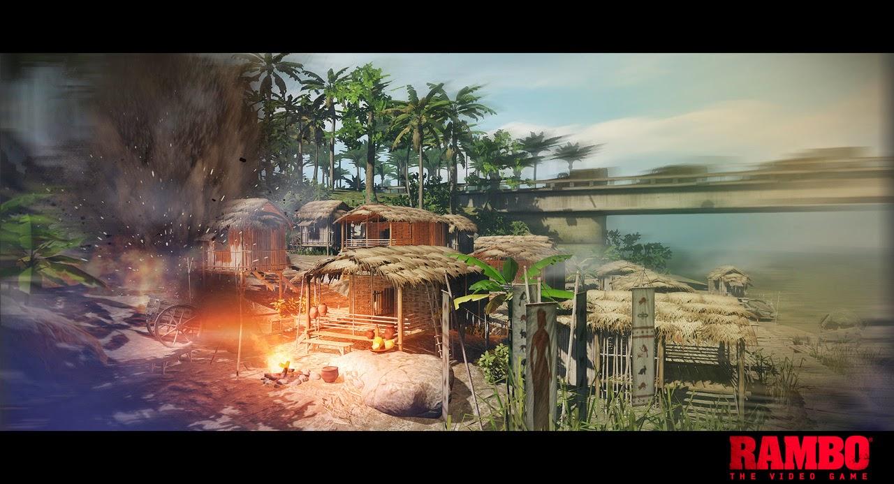 Rambo The Video Game screenshots