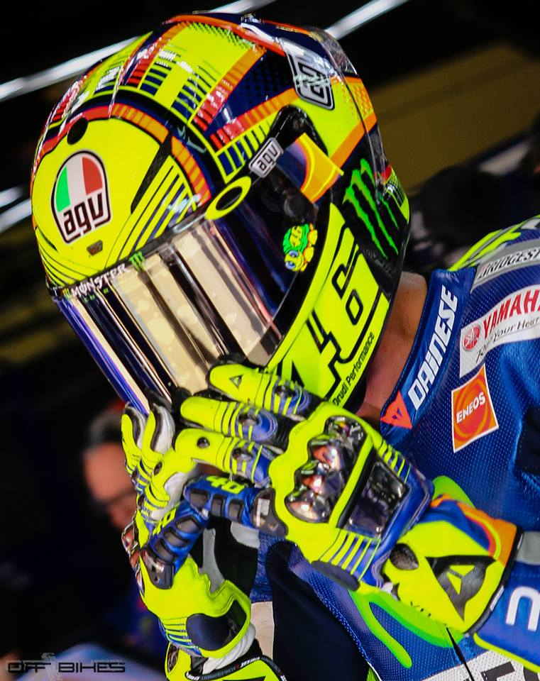 Racing Helmets Garage Agv Pistagp Valentino Rossi 2015 By Drudi Performance Painted By Did Design