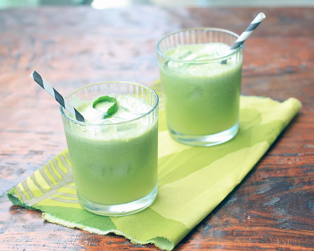 Apple and Cucumber Cooler | Girl Cooks World
