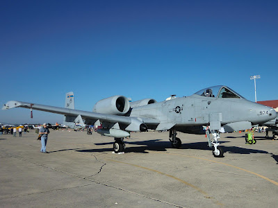 Randolph Air Force Base 2011 Air Show: A-10 Thunderbolt II