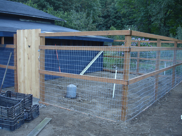how to build a chicken barn