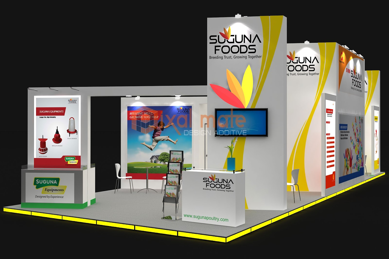 Poultry India 2012 Hyderabad Exhibition Stall Designer