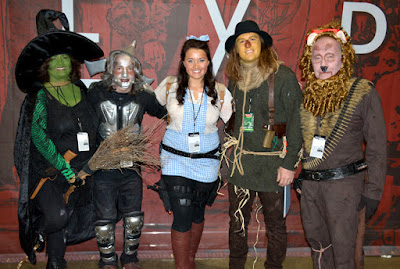 The Wizard of OZ cast at Walker Stalker Con 2015